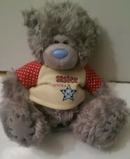 """Me to you bear 14 cm high seated """"Sister you're a star """""""