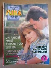 MINA Fotoromanzo n°306 1987  [D32]