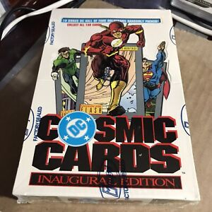 🍀 1991 Impel DC Cosmic Cards SEALED Box Superman Wonder Woman Hologram PSA 10?