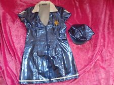ann summers PVC POLICE  STOP AND SEARCH  fancy dress size 14-16