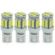 4X T10 LED White 194 168 W5W 10 SMD 7020 LED Car Interior Side Wedge Light Bulbs