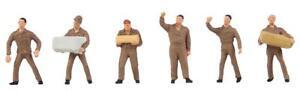 Logistikpersonal Ups, Faller Figurines Miniatures Voie N (1:160), Art. 155359