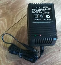 AC240V to DC 24V Power Supply Charger Transformer Adapter