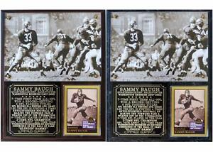 Sammy Baugh #33 Washington Redskins Legend HOF Photo Card Plaque