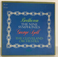 Beethoven The Nine Symphonies George Spell BSC 150 7 Lp Box Set Records Ex