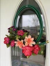 Spring Summer Hose Wreath
