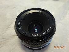 Nikon Nikkor 50 MM 1.2 lens aperture working well and smooth focusing 50mm