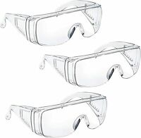 Safety Glasses Over Glasses Goggles Protective Eyewear for Work