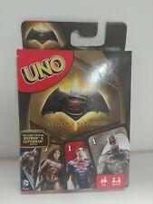 UNO Batman vs Superman Edition Card Game DC Superhero 112 Cards