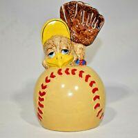 Eggbert And Friends By Malcolm Bowmer 1989 Baseball Bank Vintage Vtg Duck EUC