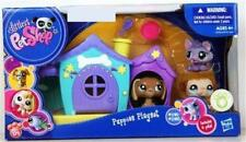 Littlest Pet Shop PUPPIES PLAYSET Dachshund Husky Pug lot #1751 #1752 #1753 NIB