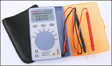 MS8216 Mastech Multimeter Pocket Size Autoranging Dcv / Acv / Ohm / Cap / Hz /