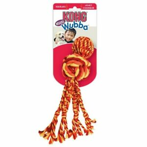 KONG® Wubba Weaves with rope (Assorted colours)