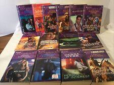 Lote de 14 Arlequín intriga novelas de amor novelas (4) Suspenso, Aventura de impresión de gran