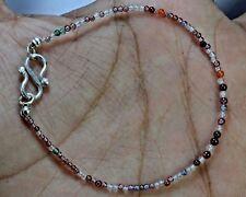 "N-2170 Mix Quartz Gemstone Natural Round Plain Loose Beads 7ct 2mm 7"" Bracelet $"