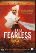 FEARLESS - DVD (USATO EX RENTAL) JET LI