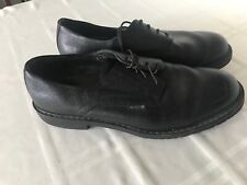 MEPHISTO MENS SZ 12.5 LACE UP SHOES BLACK TS0