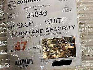 ComTran 34846 18/6C Stranded Control/Communications Cable Plenum White /100ft