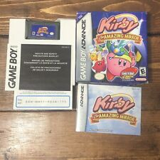 Kirby & the Amazing Mirror (Nintendo Game Boy Advance, 2004)- Complete W Manual