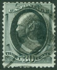 EDW1949SELL : USA 1870 Scott #154 Used Sound & cleaned. PSAG Cert Cat $300.00.