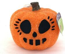 Seasons Light up Halloween Pumpkin Jack O Lanterns Melted GEL Plastic