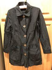 #104 women coat Size S Black