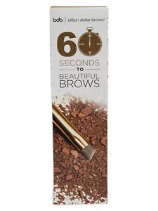 Billion Dollar Brows 60 Seconds to Beautiful Brows Kit Taupe Brush & Powder NIB