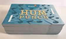 Partini Game Replacement Hum Punch Cards Complete Set Pieces Parts EUC
