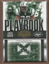 2006 Donruss Gridiron Gear Playbook Jerseys X's #16 Curtis Martin Jersey 132/250
