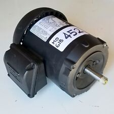 WEG GENERAL PURPOSE MOTOR 5018ES3E56CFL-S, 1/2 HP, 200/230/460V 3PH - NEW 452