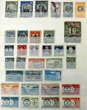 PANAMA & CANAL ZONE  -  SELECTION OF USED  STAMPS