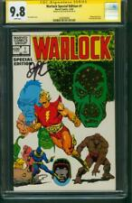 Warlock Special Edition 1 CGC 9.8 SS Jim Starlin Thanos Avengers Endgame Cover