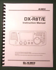 Alinco DX-R8T/E Instruction Manual: With Protective Plastic covers!