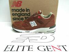 "bnib NEW BALANCE 991 GNB UK 8.5 "" ELITE GENT PACK "" brown tan leather RRP £169"