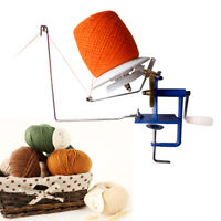 Heavy Duty Metal Yarn Fiber Wool Ball Winder Hand Operated 300g capacity NEW