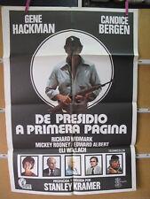 A4914 DE PRESIDIO A PRIMERA PAGINA - HENE HACKMAN Y CANDICE BERGEN