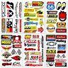 Auto Car Nos Hot Rod Truck Racing D6094 Pack 6 Vinyl Graphics Decals Stickers