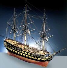 "Finely Detailed, Elegant Wooden Model Ship Kit by Caldercraft: ""HMS Agamemnon"""