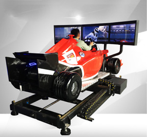 Commercial VR F1 Racing Simulator Virtual Reality 9D Car 360 Arcade SEE VIDEO