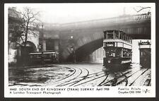 South End of Kingsway Tram Subway April 1908. TRAM 816. Pamlin Prints Postcard