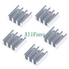 5PCS 11x11x5mm Aluminum Heat Sink For Memory Chip IC SF