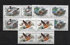 RUSSIA SG6011/13, 1989 DUCKS (1ST) MNH BLOCKS OF FOUR