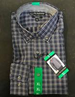 NWT BC CLOTHING EXPEDITION MEN'S LONG SLEEVE DRESS SHIRT- XL