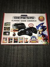 SEGA Genesis Mega Drive Retro Video Game Console With 80 Classic Games FB8280B