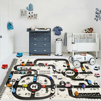 Kids Road Carpet Car City Scene Traffic Highway Map Play Educational Toy Games