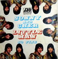"LITTLE MAN  7"" SONNY & CHER  ps  ITALY '66 SO FINE  BEAT"