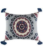 "NEW Martha Stewart Whim Eccentric 16"" x 20"" Lilac Decorative Pillow Bedding E786"