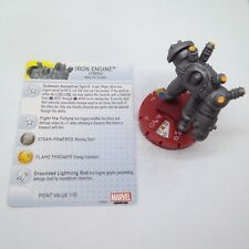 Heroclix Invincible Iron Man set Iron Engine #055 Chase figure w/card!