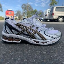 Asics Gel Kayano 15 Running Shoes NWT! Mens sz 11 White/Black/Gold Rare Sneakers