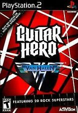 Guitar Hero Van Halen PS2 NEW! JUMP, HOT FOR TEACHER,  PANAMA, QUEEN, BILLY IDOL